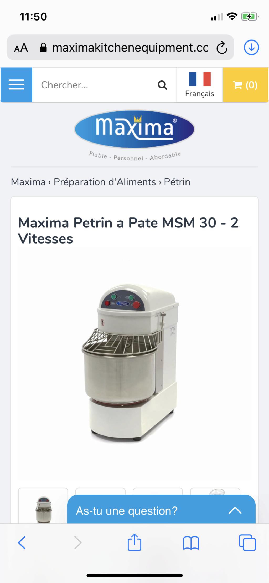 Choix pétrins  08536910