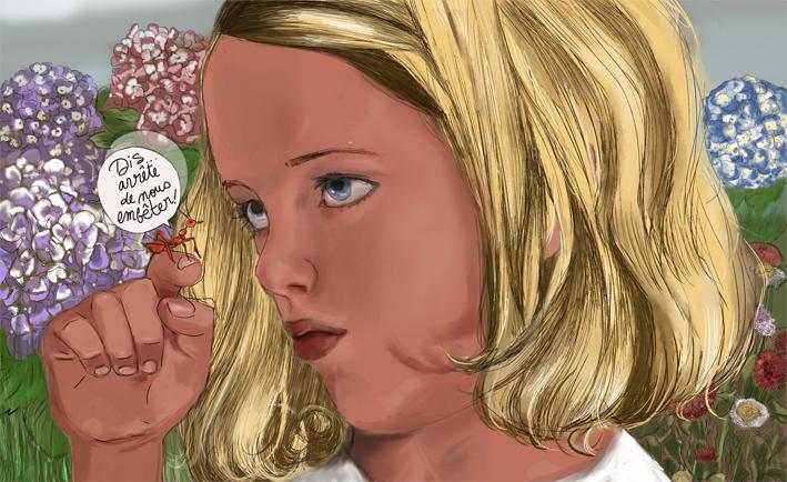 Livre pour enfant sur le thème chevaleresque Fillet12