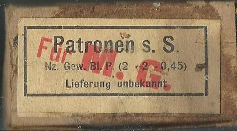 Boites de 7,92  ré-empaquetage Liefer11