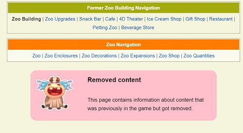 Zoo Buildings and Enclosures. Remove10
