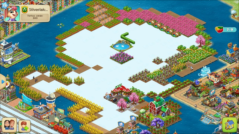 How often do you rearrange your town? Silver10