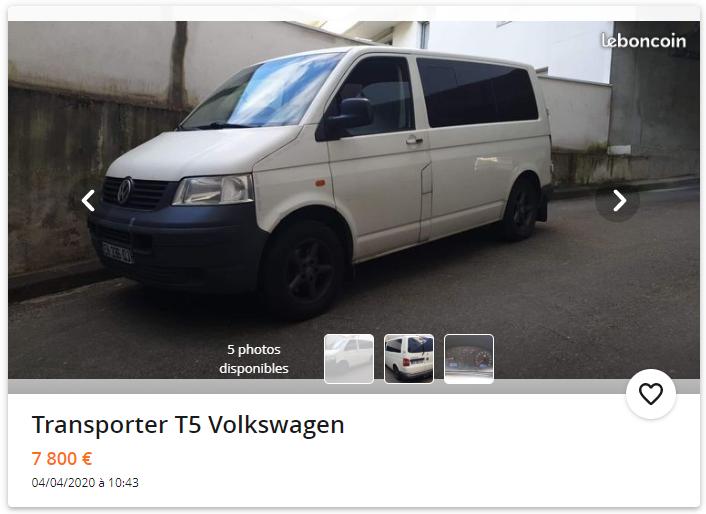 Avis sur Transporter T5 2,5 TDI 130 2020-010