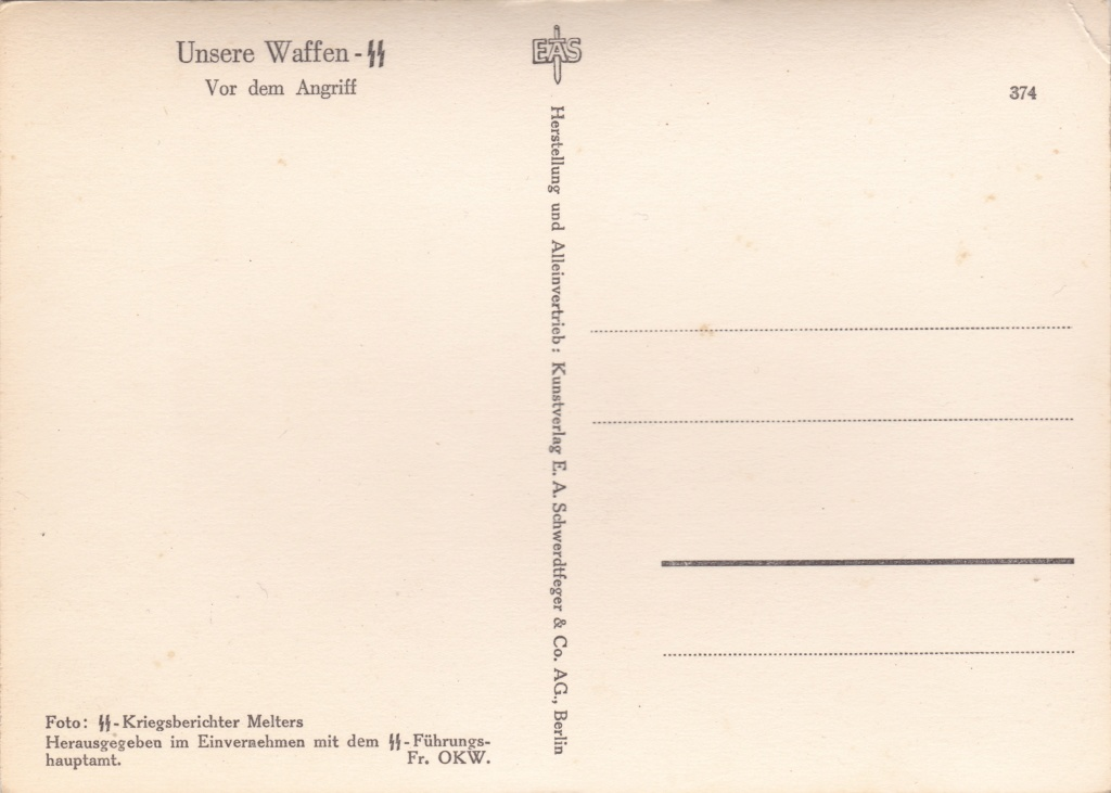 """Cartes postales """"UNSERE WAFFEN SS"""" Img_2043"""