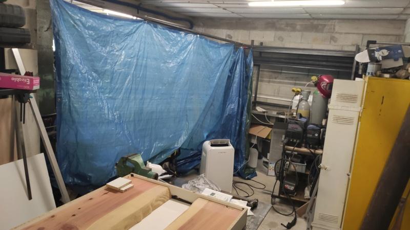 Mesa en madera y epoxy  15949310