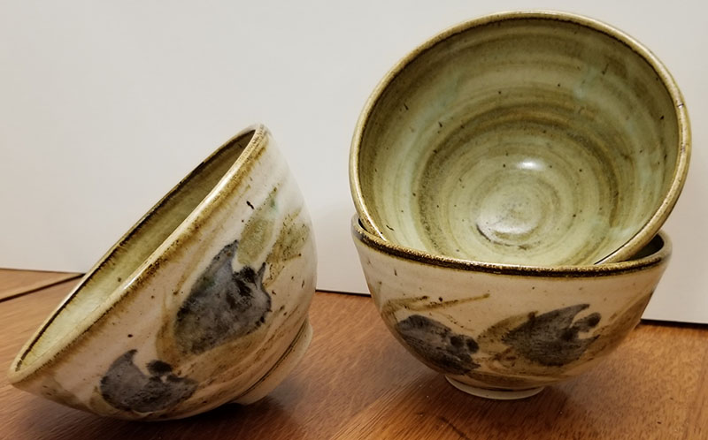 3 Rice bowls with an A mark 3_bowl10