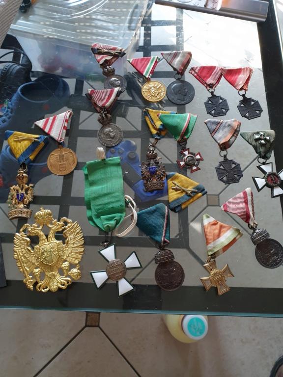 Médailles de l'empire Autriche Hongrie. 20201115