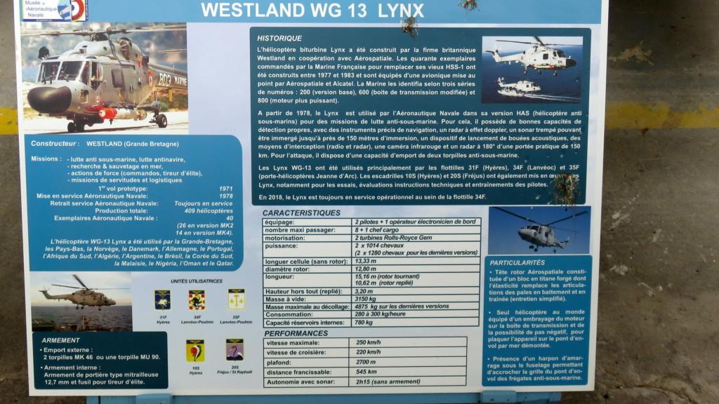[ Les Musées en rapport avec la Marine ] Musée de l'Aeronautique Navale de Rochefort - Page 15 Lynx_w10