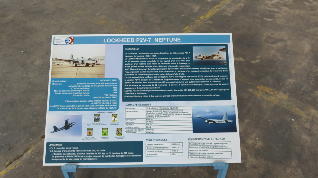 [ Les Musées en rapport avec la Marine ] Musée de l'Aeronautique Navale de Rochefort - Page 15 Neptun11