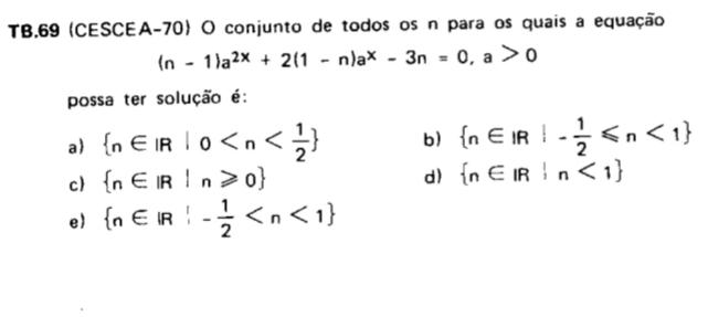 (CESCEA-70) Função exponencial  20210410