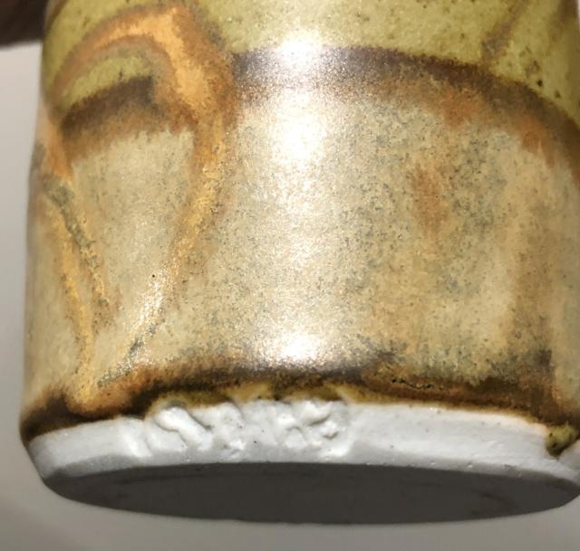 Studio Vase Double Impressed Marks, EP mark? 52c23010