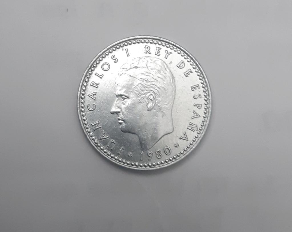 1 peseta Mundial 82 plateada 20210316