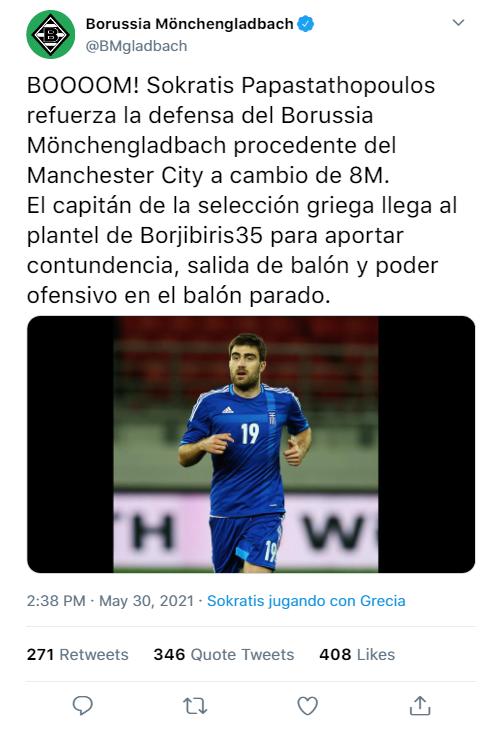 Borussia Mönchengladbach T29 Descar75