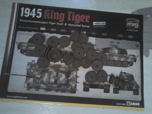 From the box - duo de tiger II takom et ammo mig (1:35) - Page 2 Dsc_6218