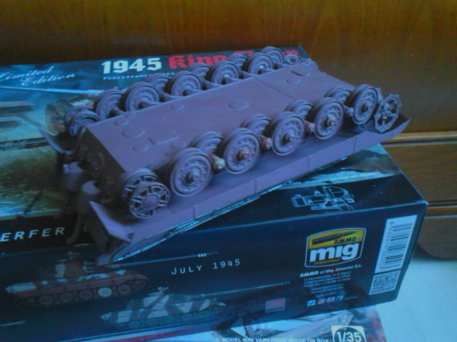 From the box - duo de tiger II takom et ammo mig (1:35) - Page 2 Dsc_6220