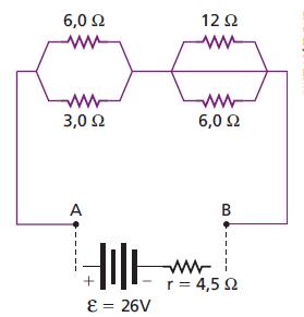 Associação de resistores, geradores  Ge10