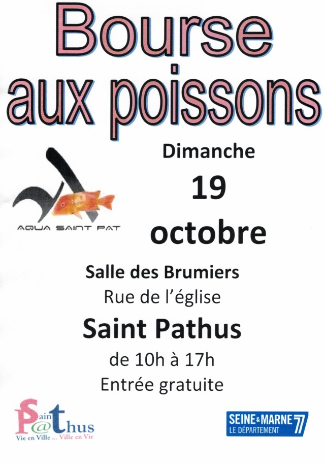 bourse saint pathus (77) 19 octobre 2014 Affich12