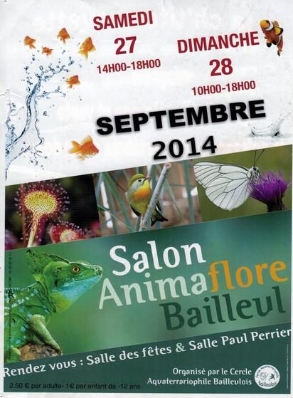 Salon Animaflore de Bailleul 27 28 septembre Bourse15