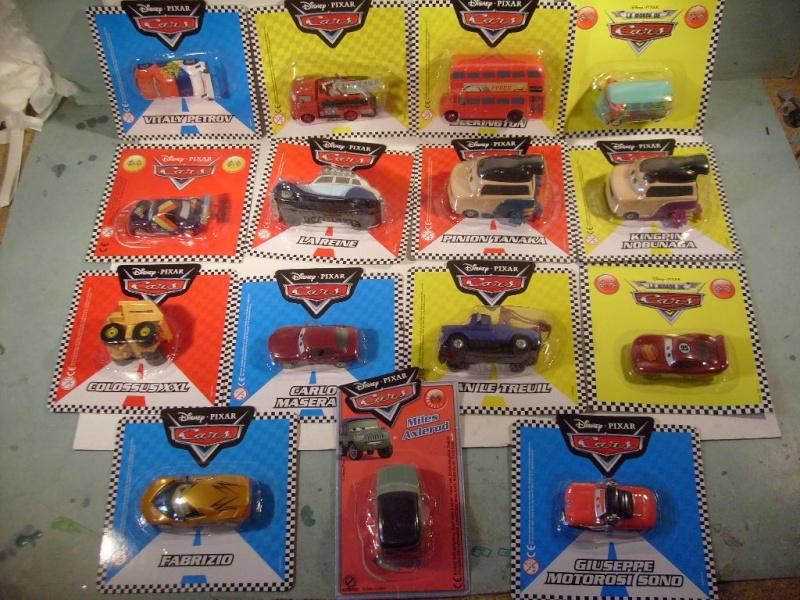 mes autres Cars 1 , 2 , 3 et Planes !!! toutes marques et matieres S7306049