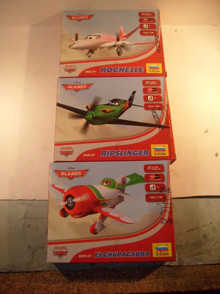 """[Zvezda] Quelques """"Planes"""" Disney au 100 eme S7306662"""
