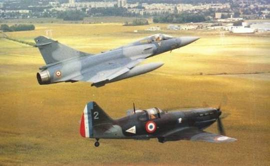 le Dewoitine D520 façon papy loic - Page 5 Mirage10
