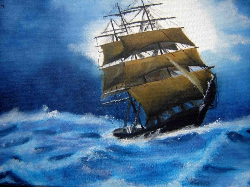 mon surcouf a moi par papy loic Peintu10