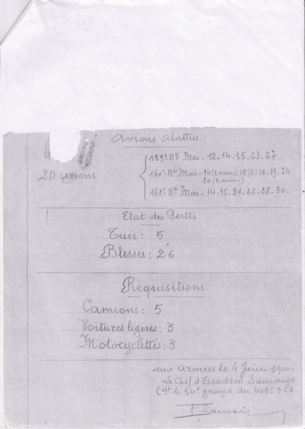 405e RADCA : Composition 1934-1940 405rad19