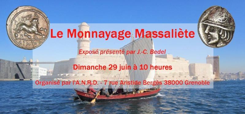 ANRD: le monnayage Massaliète présenté par J.-C. Bedel. 10329710