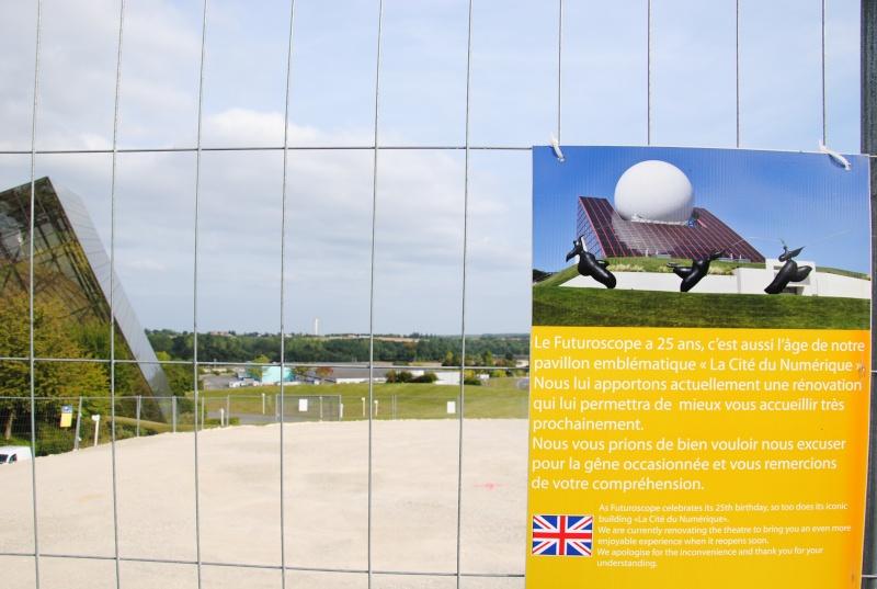 Boule du Futuroscope : démontage, reconstruction, scénographie (2012-2014) - Page 15 Dsc_0127