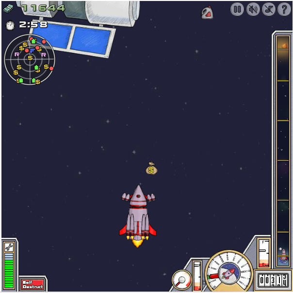 [Jeu Flash] Into Space Is410