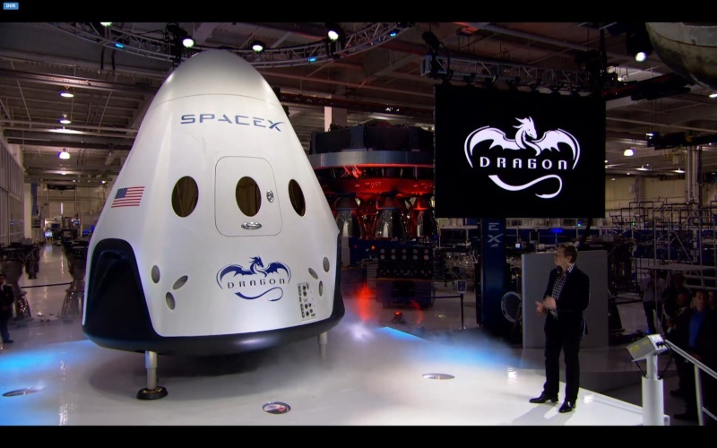 Développement de la capsule Dragon 2 - SpaceX Opera_14