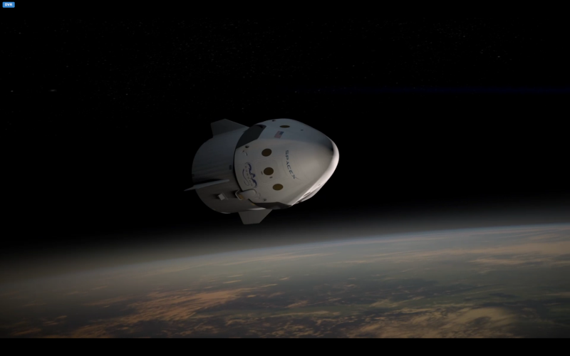 Développement de la capsule Dragon 2 - SpaceX Opera_18