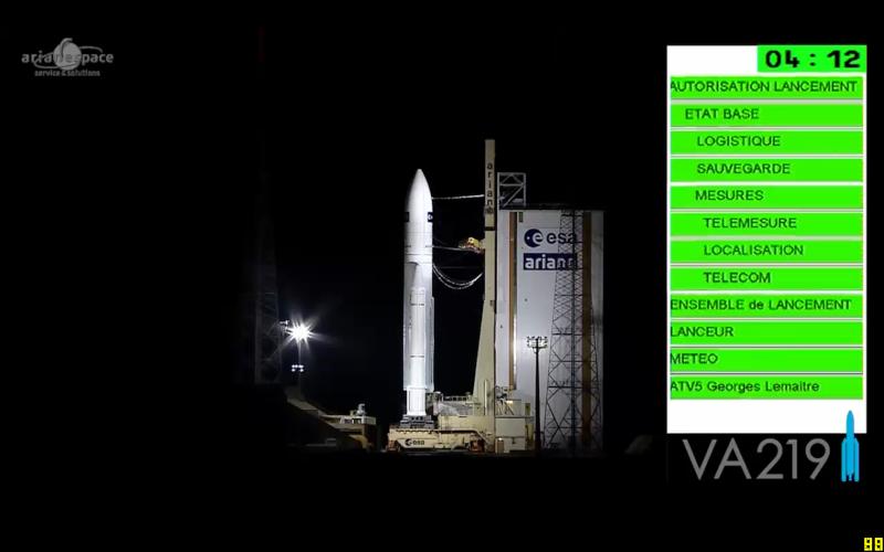 "Lancement Ariane 5 - VA219 / ATV-5 ""Georges Lemaître"" - 29 juillet 2014 - Page 4 Opera_21"