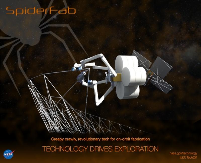 L'araignée spatial robot de la NASA Spider10