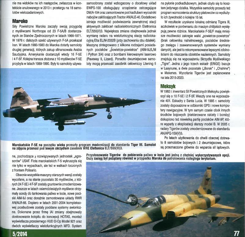 F-5A/B/E et F des FRA / RMAF Northrop F-5 Tiger III - Page 21 Unbena11
