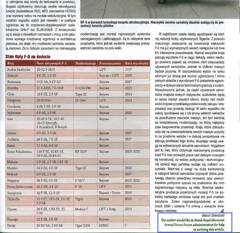 F-5A/B/E et F des FRA / RMAF Northrop F-5 Tiger III - Page 21 Unbena12