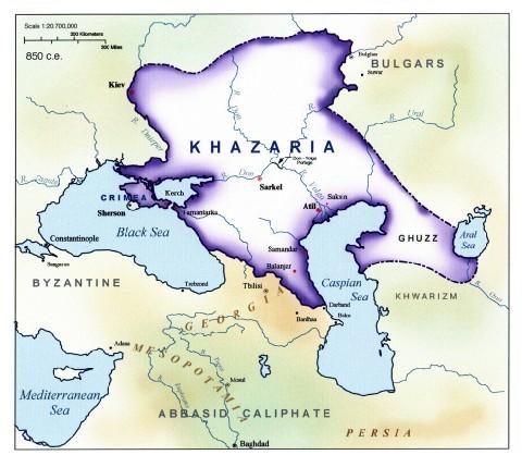 LC Koestler - La 13ème tribu - Page 2 Khazar11