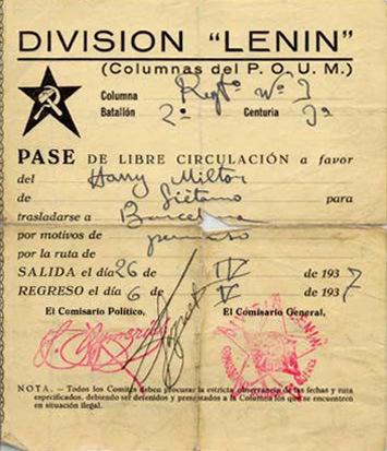 LC Guerre d'Espagne Poum-l10