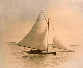 Sandbagger sloop 1886 1/20 Annie10