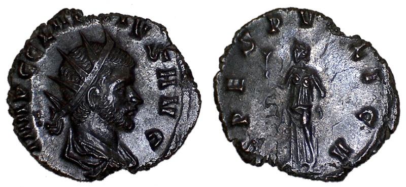 CLAUDE II LE GOTHIQUE Antoninien pour Rome Claude14