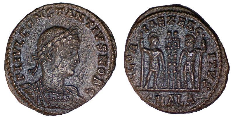 Un petit Constance II pour Alexandrie Consta16