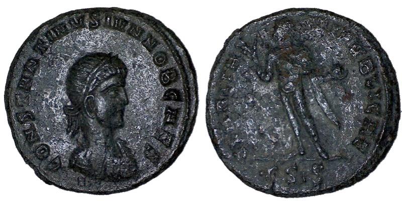 Ma petite collection : 48 monnaies  (Chrisus) - Page 2 Consta19
