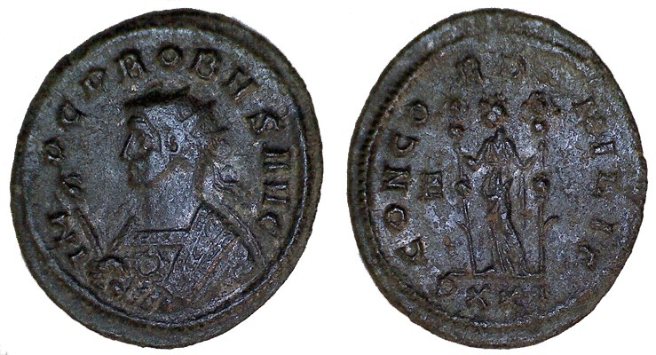 Ma petite collection : 48 monnaies  (Chrisus) - Page 2 Probus10