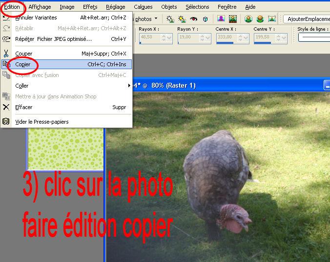 Tuto 1 _  photo sur papier scrap et titre  T410