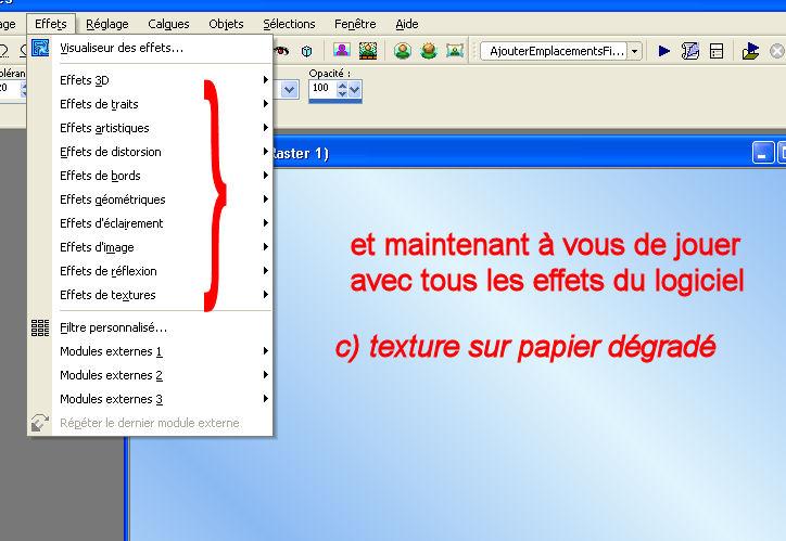 Tuto 5 _ faire des papiers scrap  Textde10