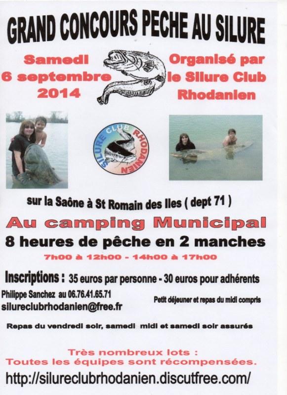 Concours de pêche au silure sur la Saône Img18010