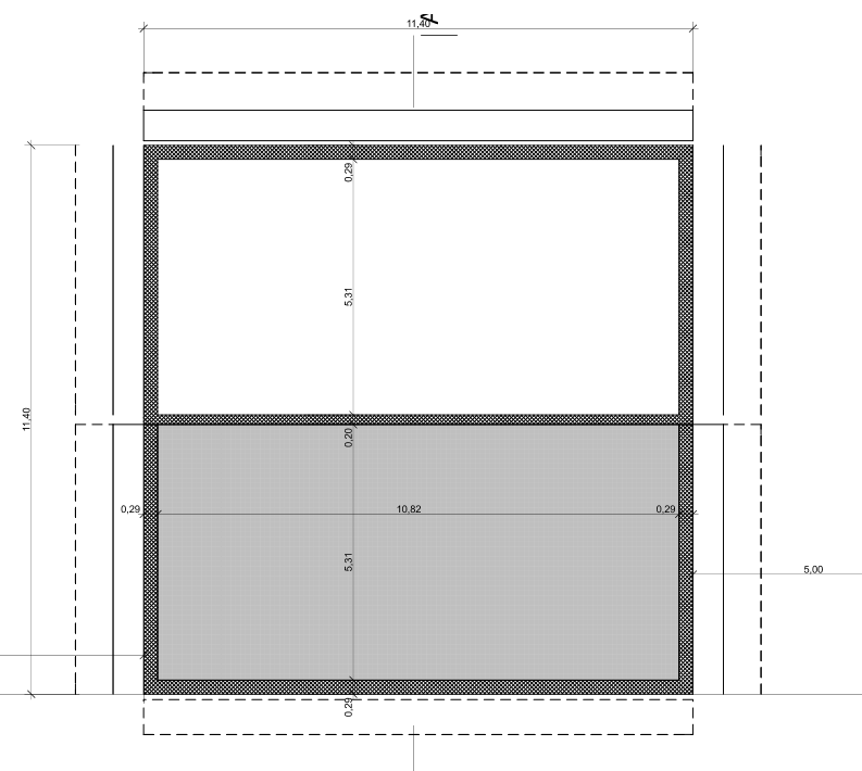 GREB sur plancher à poutrelle précontrainte vide sanitaire Vide_s10