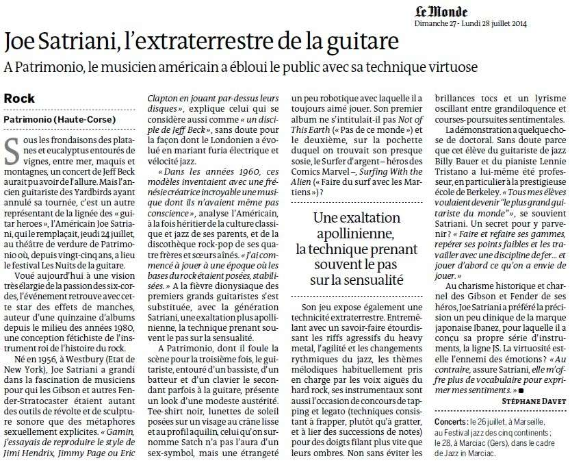 Joe Satriani, l'extraterrestre de la guitare (Le Monde) Joe_sa10