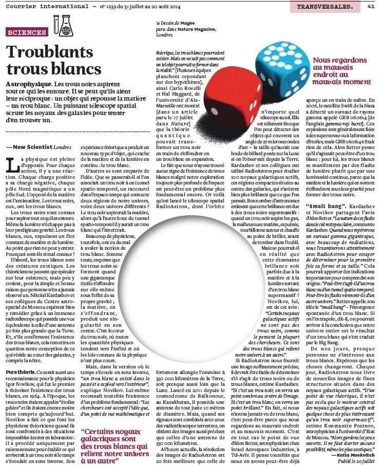 Troublants trous blancs (Courrier International) Troubl10