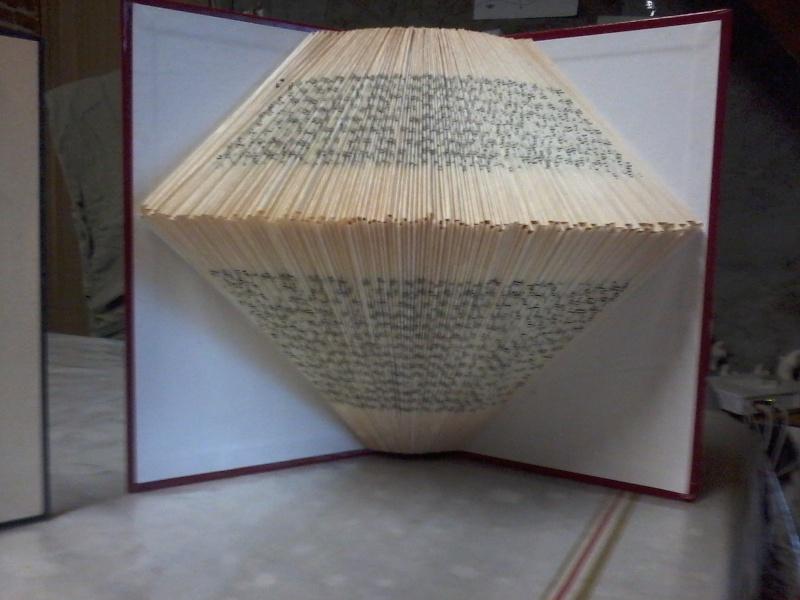 Pliage de livres Photo155