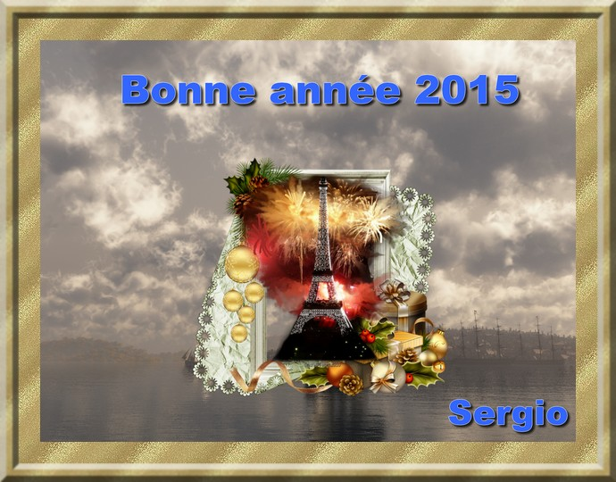 Meilleurs voeux pour l'année 2015 Ba201510